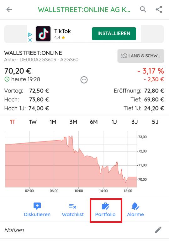 Aktien kaufen Börsenapp